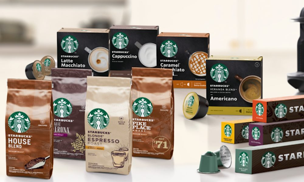 Starbucks® premium: nuova miscele di caffè prodotto da Nestlè